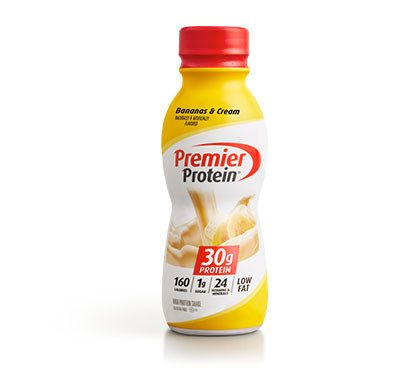 Premier Protein Product Thumbnail Banana Shake Bottle