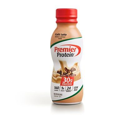 Premier Protein Product Thumbnail Cafe Shake Bottle