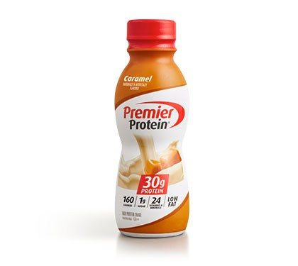 Premier Protein Product Thumbnail Caramel Shake Bottle