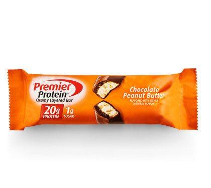 Premier Protein Product Thumbnail Chocolate PB 20g Bar
