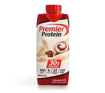 Premier Protein Product Thumbnail Cinnamon Shake 11oz