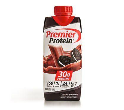 Premier Protein Product Thumbnail Cookies Shake 11oz