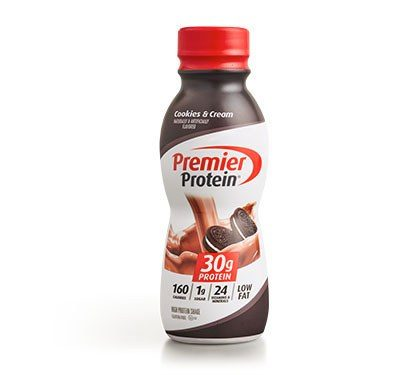 Premier Protein Product Thumbnail Cookies Shake Bottle