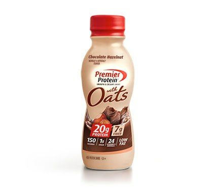 Premier Protein Product Thumbnail Oats Chocolate Hazelnut Bottle