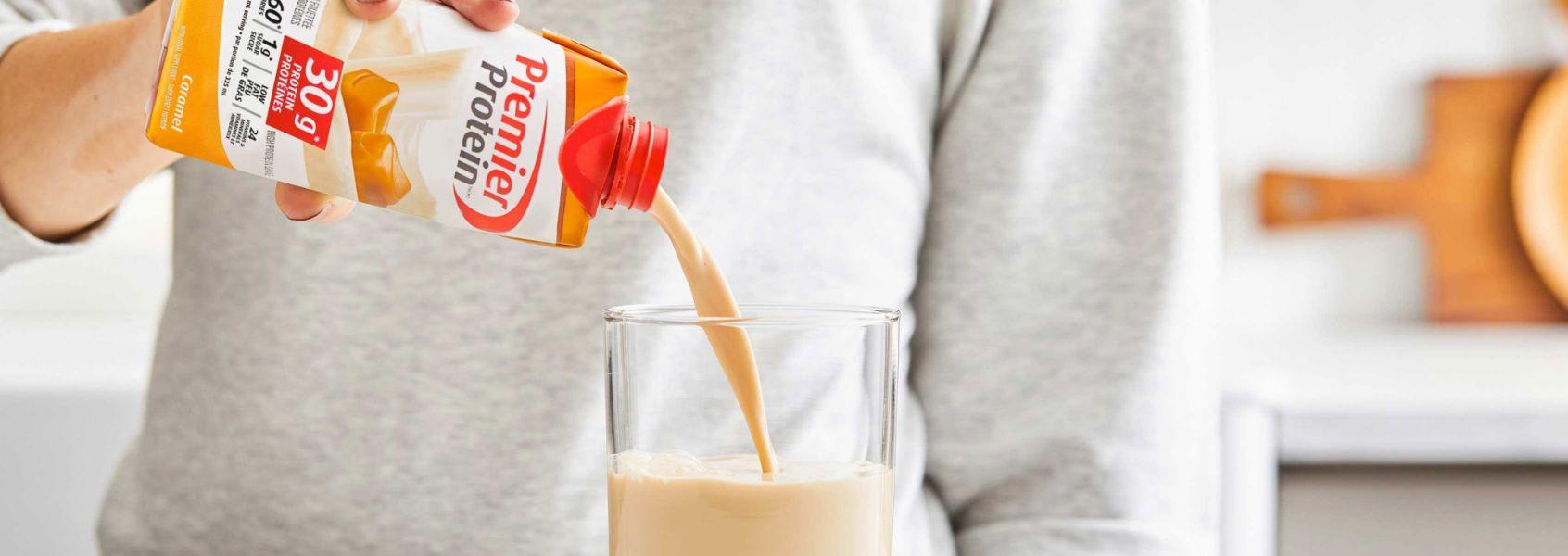 A photo of Premier Protein Caramel Protein Shake