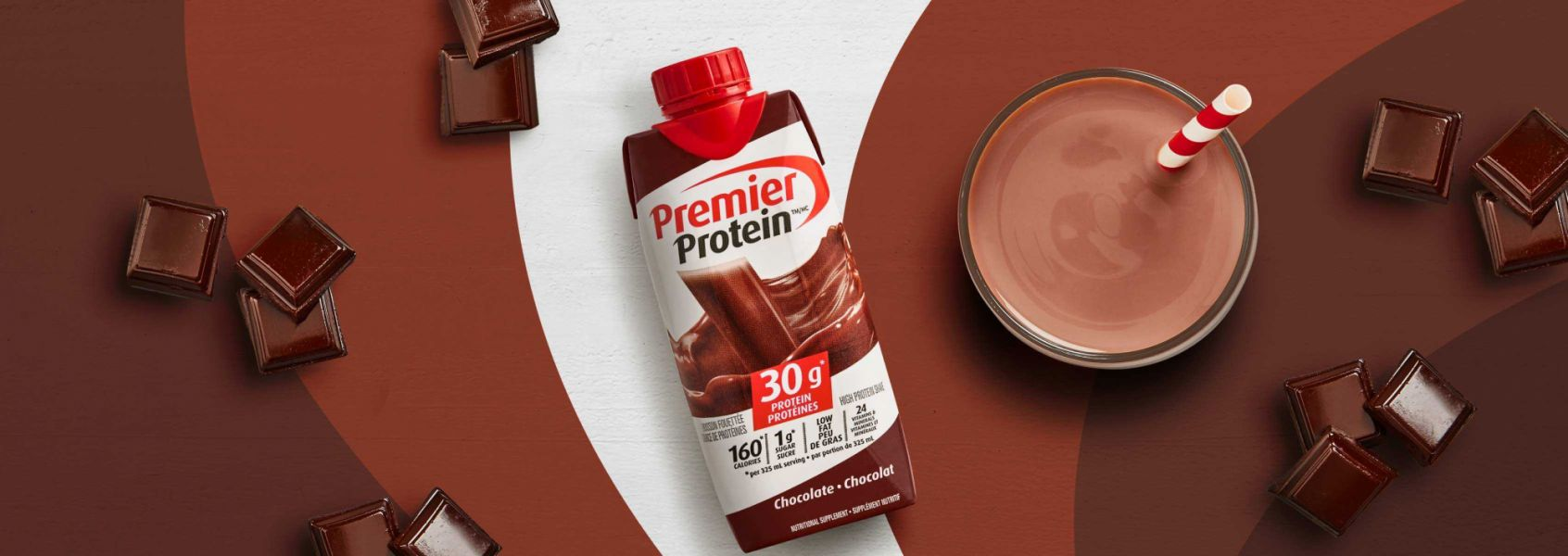 A photo of Premier Protein Chocolate Protein Shake