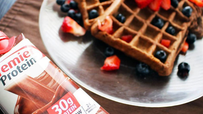 Chocolate waffles social