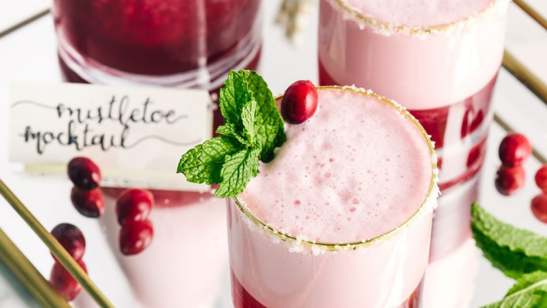 Premier Protein December Recipe Mistletoe Mocktail