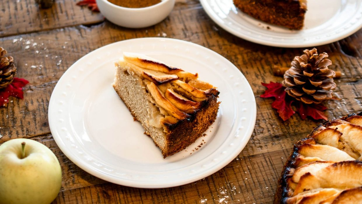 Recipe Protein Cinnamon Apple Cake 3