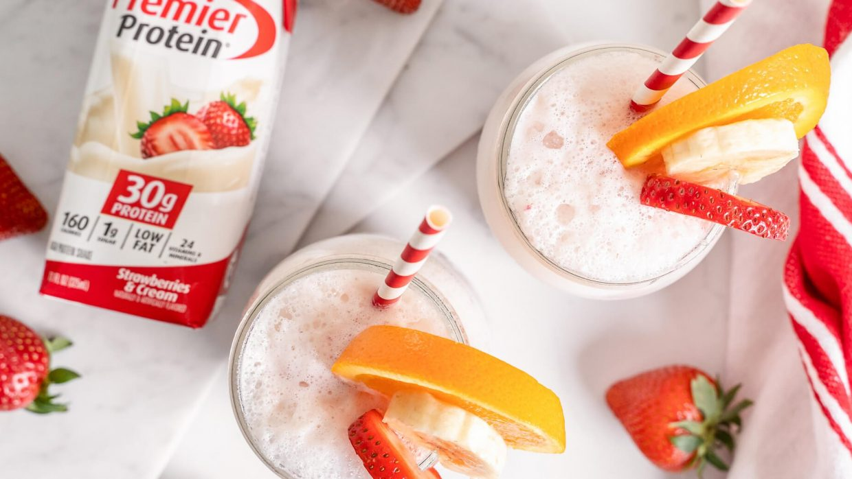 Recipe Strawberry Smoothie 3
