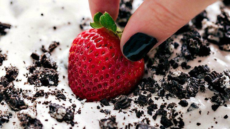 Recipe image for: Cookies & Cream Dip
