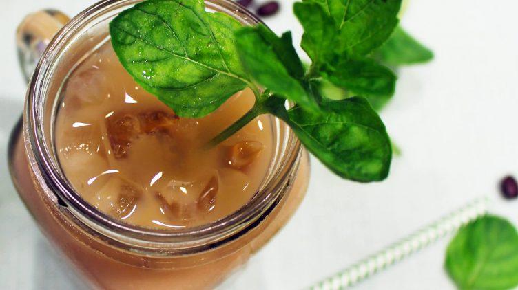 Image de recette pour: Café glacé au mojito à la menthe