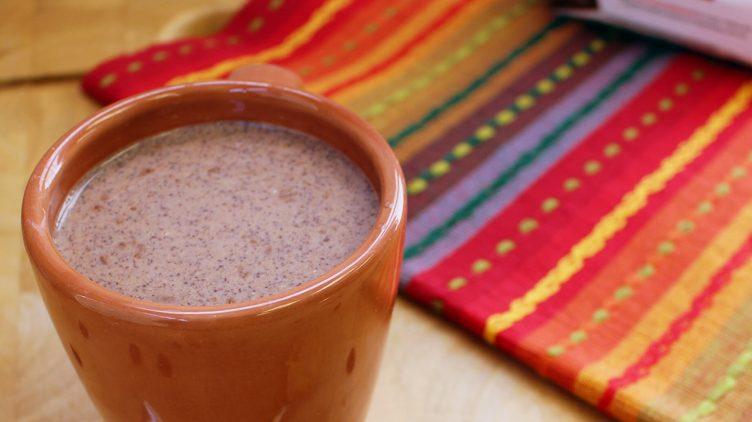 Image de recette pour: Chocolat chaud au beurre d'arachides