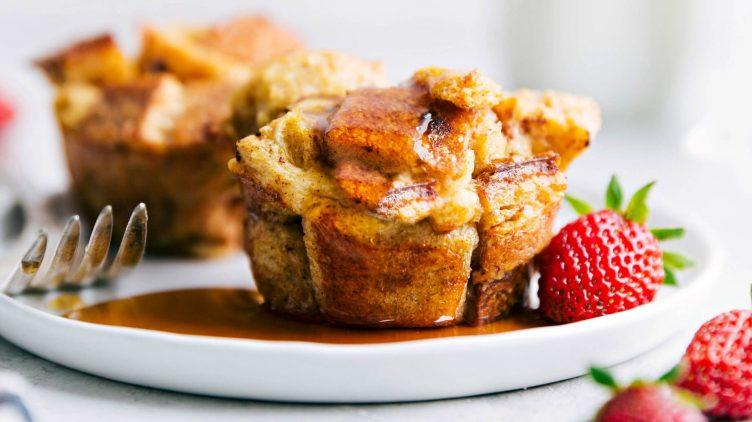 Image de recette pour: Coupes de pain doré