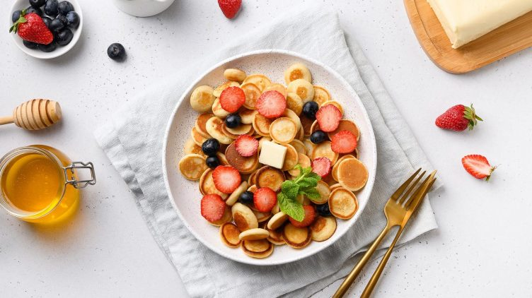 Recipe image for: Pancake Cereal