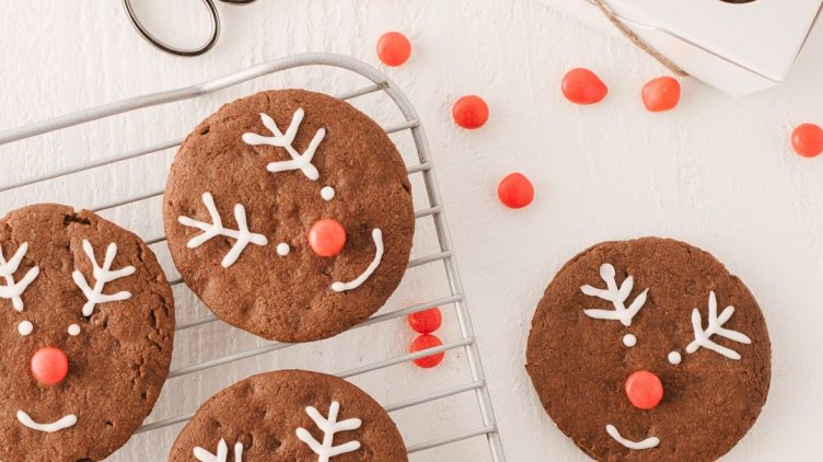 Recipe image for: Hot Chocolate Protein Cookies