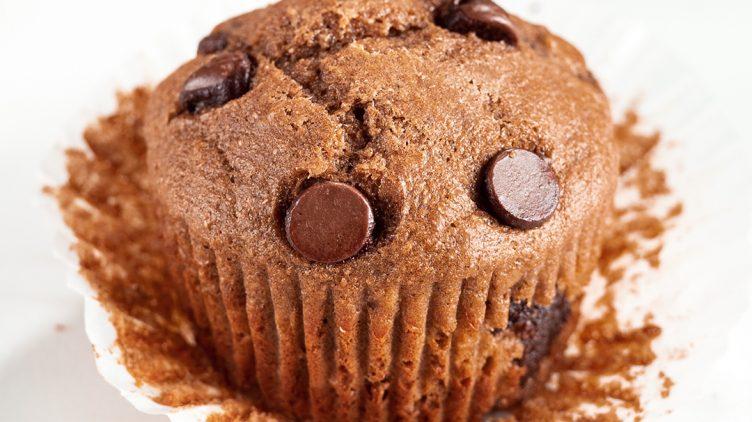 Image de recette pour: Muffins à la banane et aux pépites de chocolat