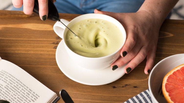 Image de recette pour: Thé Vert Latté