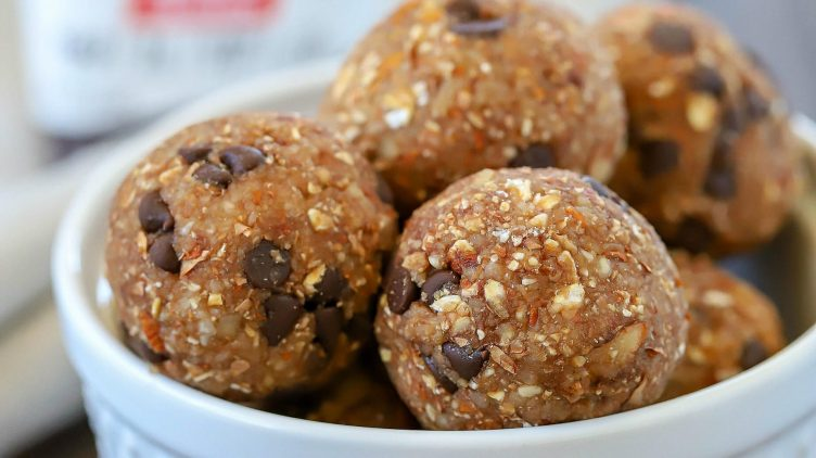 Recipe image for: Chocolate Almond Protein Energy Bites