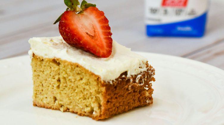 Image de recette pour: Gâteau aux trois laits
