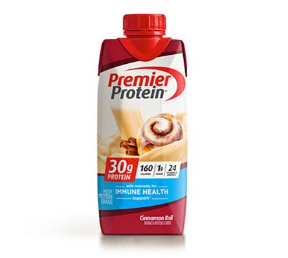 30 Premier Protein Product Thumbnail Cinn Roll Shake 11oz