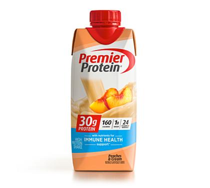 30 Premier Protein Product Thumbnail Peaches Shake 11oz