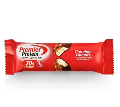 Premier Protein Product Thumbnail Chocolate Caramel 20g Bar