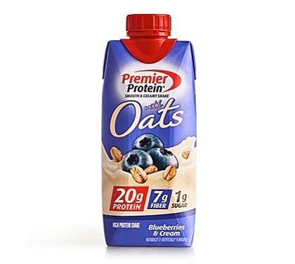 Premier Protein Product Thumbnail Oats Blueberry 11oz