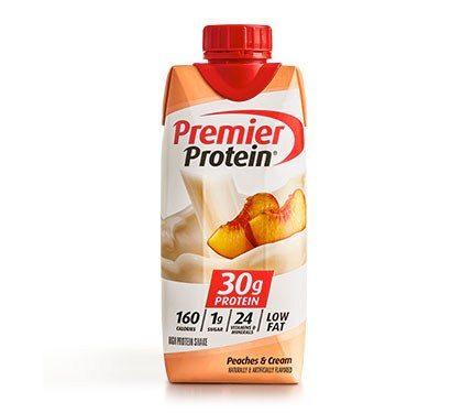 Premier Protein Product Thumbnail Peach Shake 11oz