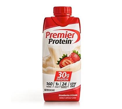 Premier Protein Product Thumbnail Strawberry Shake 11oz