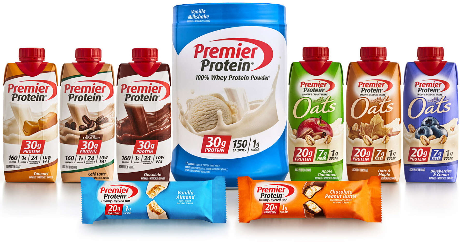 Premier Protein Products Family
