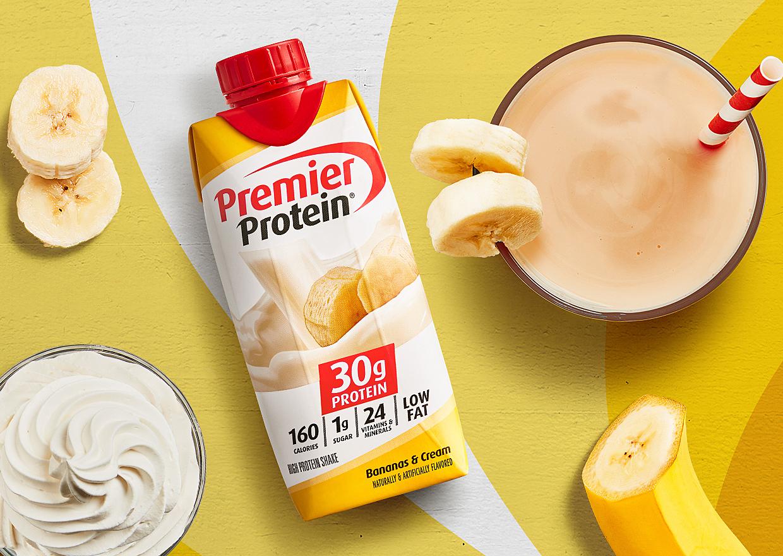 Premier Bananas & Cream Protein Shake