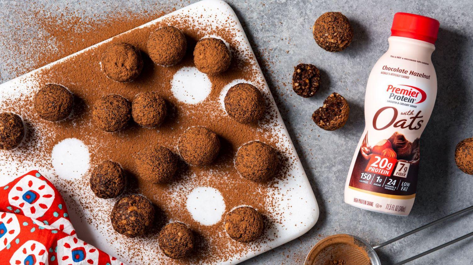 Chocolate Hazelnut Protein Balls