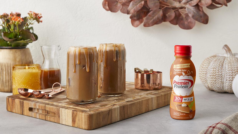 10 00 Premier Protein October Social Pumpkin Caramel Coffee WEB