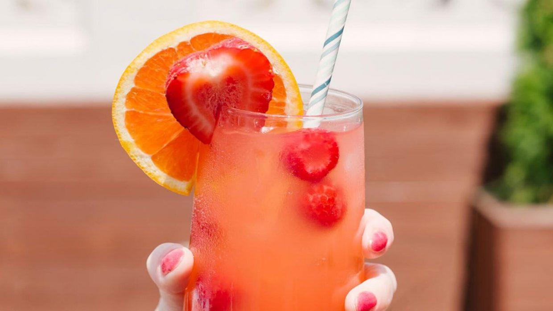 Premier June Social Tropical Mocktail FB