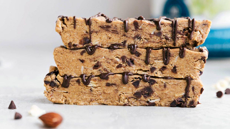 Recipe Almond Coconut Protein Bars 1