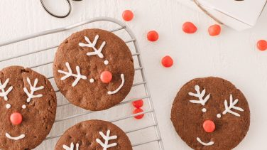 Featured image for Hot Chocolate Protein Cookies