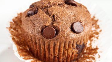 Image en vedette pour Muffins à la banane et aux pépites de chocolat