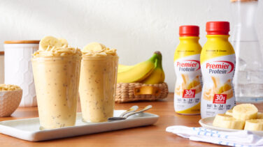 Featured image for Banana Cheesecake Parfait
