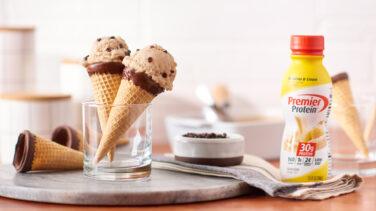 Image en vedette pour Crème glacée à la banane