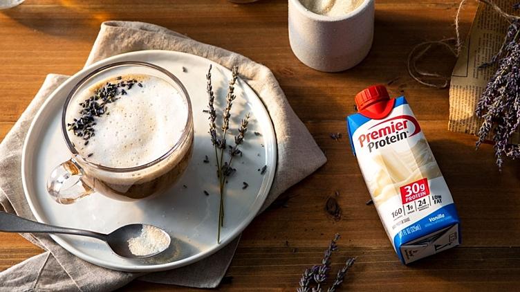 Recipe image for: Lavender Latte