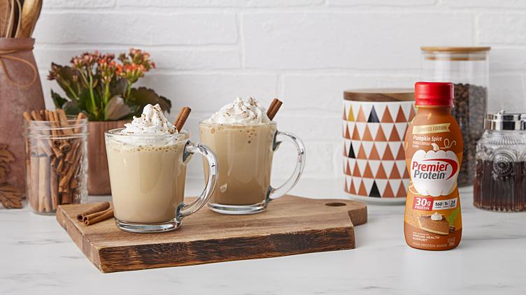 Recipe image for: Pumpkin Gingerbread Latte