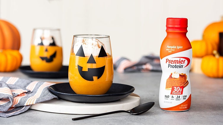Recipe image for: Pumpkin Protein Pudding