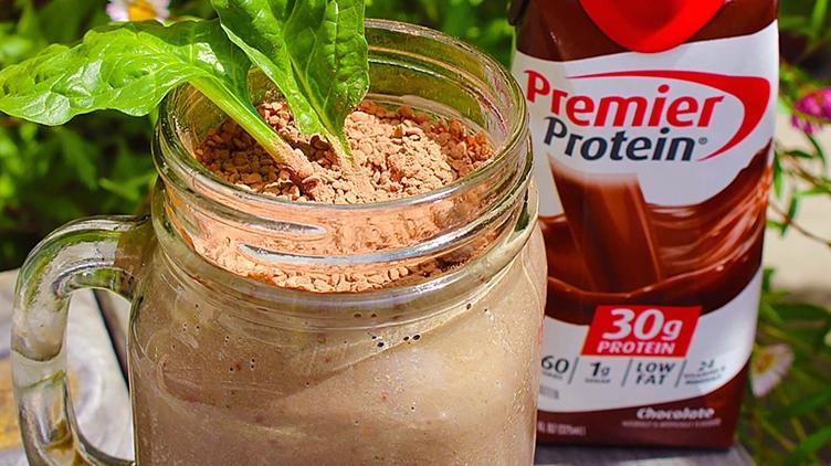 Recipe image for: Chocolate Smoothie