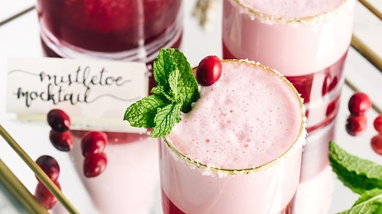 Recipe image for: Mistletoe Mocktail