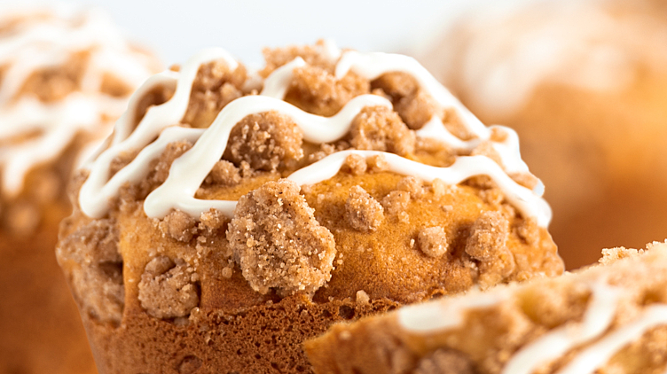 Recipe image for: Apple Cinnamon Muffins