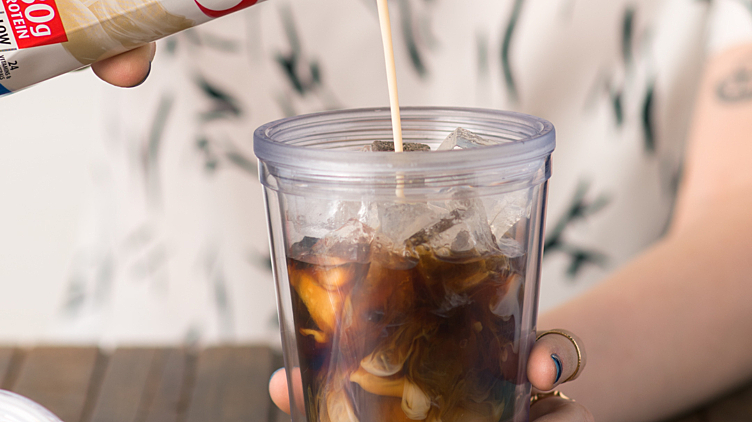 Recipe image for: Iced Hazelnut Coffee
