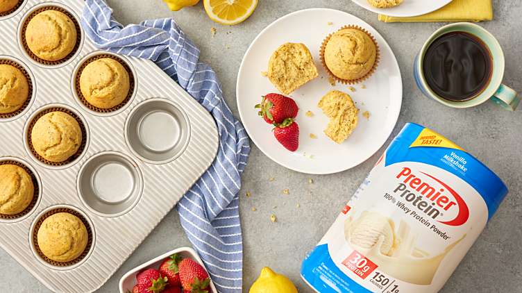 Recipe image for: Lemon Poppy Seed Muffins