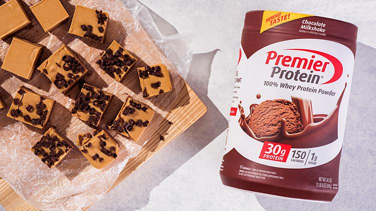 Recipe image for: Chocolate Peanut Butter Fudge Bars