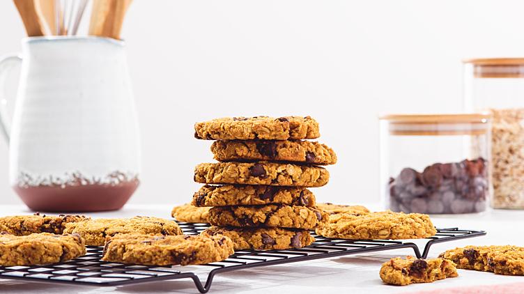 Recipe image for: Oatmeal Pumpkin Cookies